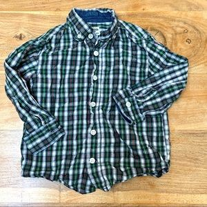 ❤️ VEUC Osh Kosh Boys Button Up Shirt